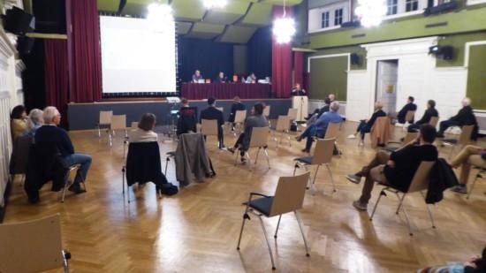 Mitgliederversammlung im September 2020